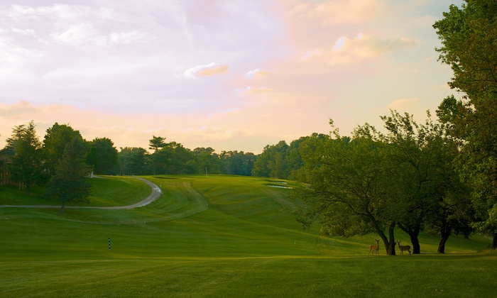 RedGate Golf Course - Rockville: 18-Hole Round of Golf for Two or Four with Range Balls and Draft Beers at RedGate Golf Course (Up to 62% Off)