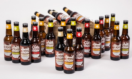 12, 24 or 36 Brewhive English and German Hop Craft Beers With or Without Cider from £9.99 (Up to 59% Off)