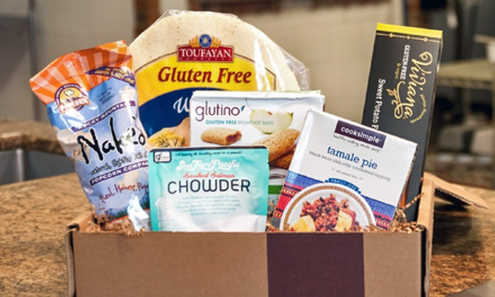 Taste Guru: One Gluten-Free Gift Box or Three-Month Box Subscription with Shipping from Taste Guru (Up to 64% Off)