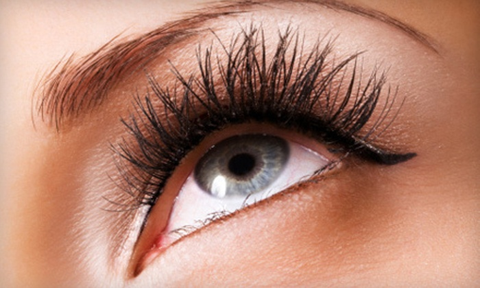 Legacy Salons & Day Spa - Fort Worth: Full Set of Eyelash Extensions with Option for Two-Week Touchup at Legacy Salons & Day Spa in Burleson (Up to 77% Off)