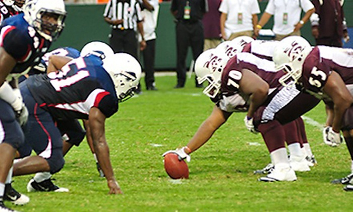 AT&T Nation's Football Classic - Northeast Washington: AT&T Nation's Football Classic Between Howard University and Morehouse College at RFK Stadium (Up to 47% Off)