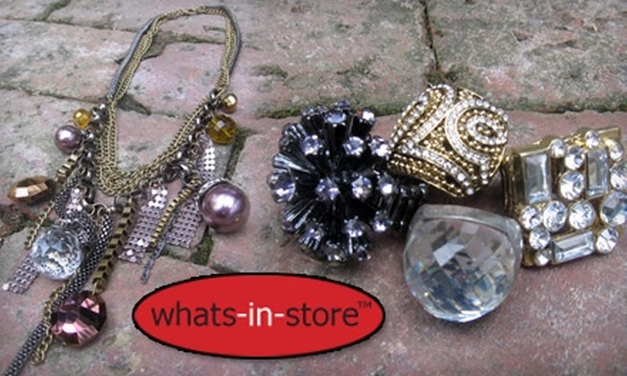 What's in Store: $20 for $40 of Jewelry, Accessories, and More at Whats-in-Store