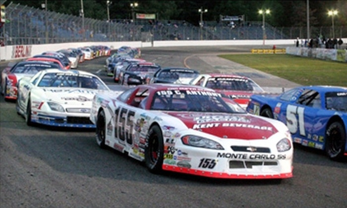 Berlin Raceway - Wright: $15 for Tickets and Dinner for Two at Berlin Raceway in Marne (Up to $37 Value)
