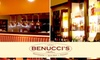 Benucci's - Pittsford: $15 for $30 Worth of Italian Cuisine and Drink at Benucci's