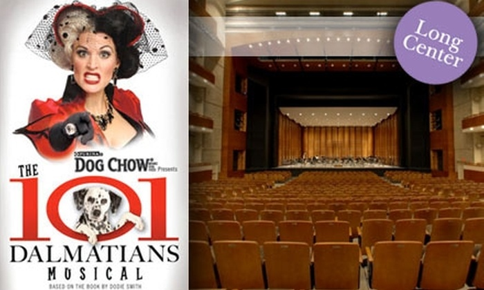 "The Long Center  - Bouldin: $31 Tickets to ""101 Dalmatians"" at The Long Center (Up to $59 Value). Buy Here for November 24, 8 p.m. Additional Dates and Times Below."