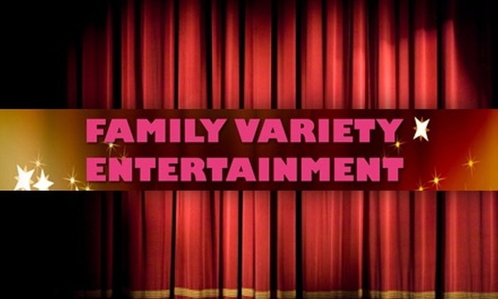 $10 for a General-Admission Ticket to a Family Variety Show from StageDoor Studio at Henrico Theatre ($20 Value). Choose from Six Different Shows.