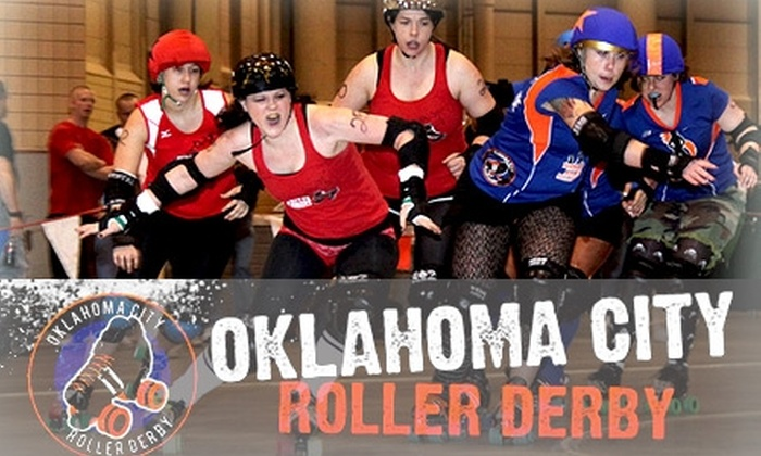 Oklahoma City Roller Derby - Central Oklahoma City: $5 for a General Admission Ticket to Oklahoma City Roller Derby ($12 Value)