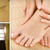 Half Off Mani-Pedi at Floating Feather