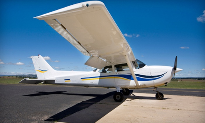 Toronto Airways & Canadian Flight Academy - Multiple Locations: $89 for an Introductory Flight Lesson at Toronto Airways in Markham or Canadian Flight Academy in Oshawa (51% Off)