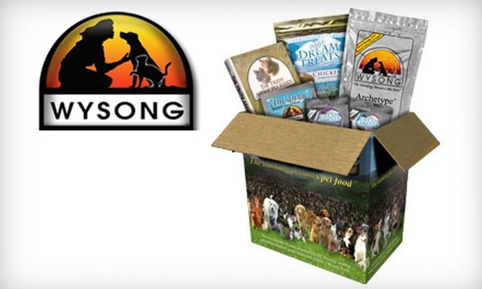 Wysong Natural Pet Foods & Supplements: $20 for a Canine or Feline Nutritional Starter Kit Plus Shipping from Wysong Natural Pet Foods & Supplements (Up to $40.83 Value)