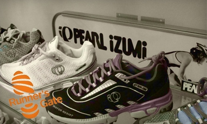 Runner's Gate - Minneapolis / St Paul: $25 for $50 Worth of Apparel and Shoes at Runner's Gate in Lakeville