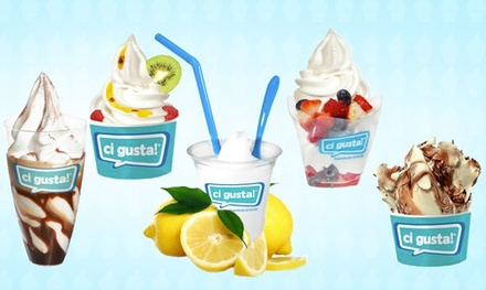 C$12 for Four Groupons, Each Good for $5 Worth of Gelato and Italian Food at Ci Gusta Barrie (C$20 Value)