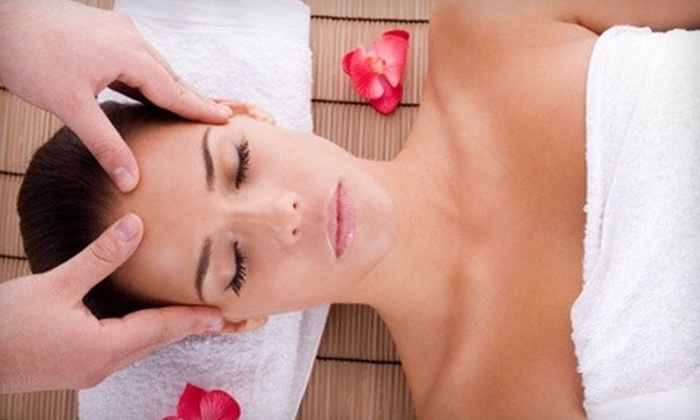 Bliss Massage Studio - Industrial Park: $49 for One-Hour Swedish, Deep-Tissue, or Hot-Stone Massage (Up to $120 Value) and Three $25 Discount Cards from Bliss Massage Studio in Somerville