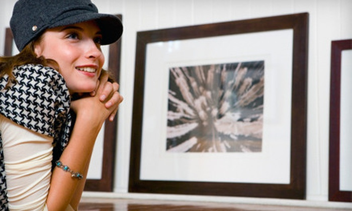 PDR Picture Frames & Gallery - Waterloo: $49 for $110 Worth of Frames and Custom Framing at PDR Picture Frames & Gallery