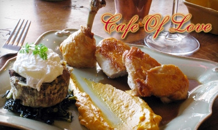 Café of Love - Mount Kisco: $15 for $30 Worth of French Cuisine at Café of Love