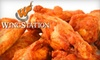 Wing Station - Far West Side: $7 for $15 Worth of Wings and Drinks at Wing Station