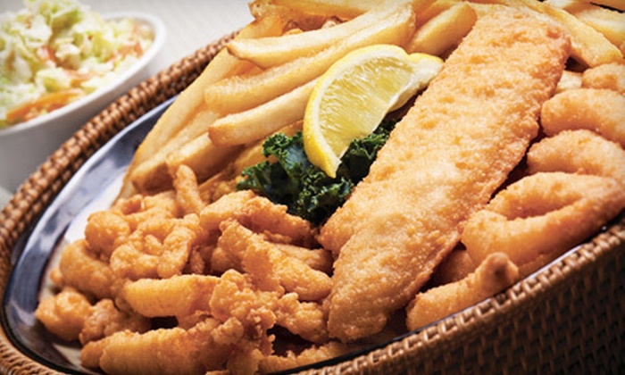 Skippers - Suncrest: Sustainable Seafood at Skippers in Orem (Half Off). Two Options Available.
