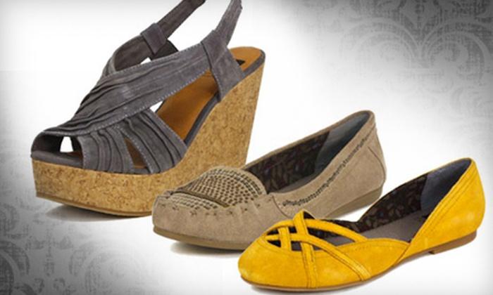 Shoe Z Q - Palm Desert: $25 for $50 Worth of Footwear, Purses, and Accessories at Shoe Z Q in Palm Desert