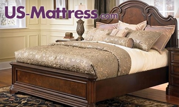 US-Mattress - Multiple Locations: $35 for $150 Worth of Beds, Furniture, Linens, and More from US-Mattress