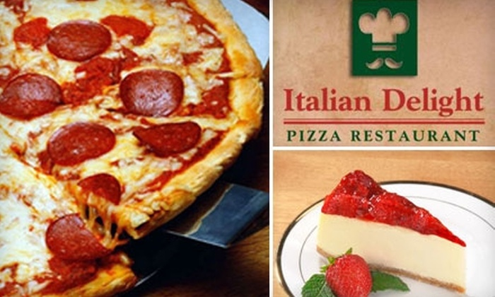 Italian Delight Pizzeria-Restaurant - 1: $7 for $15 Worth of Authentic Italian Cuisine and Drinks at Italian Delight Pizzeria-Restaurant in Powhatan
