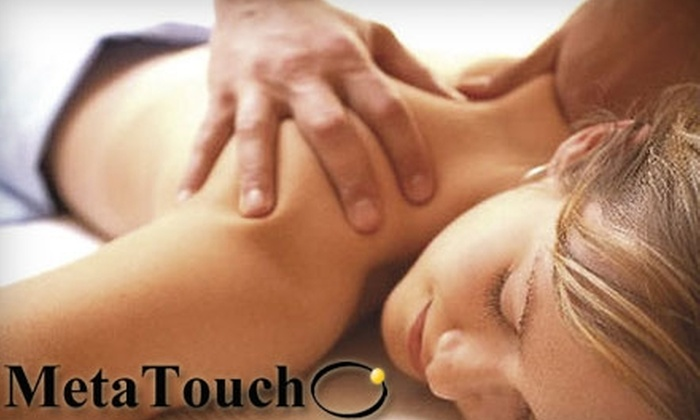 MetaTouch - Park West: $49 for a One-Hour Therapeutic Massage at MetaTouch in Culver City ($100 Value)