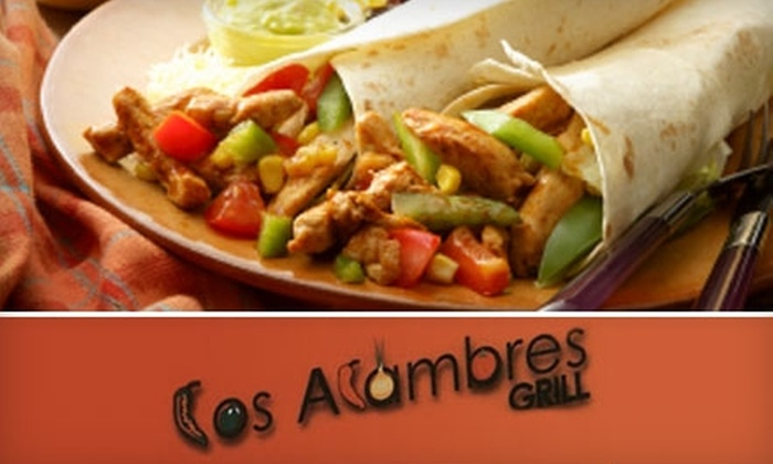 Los Alambres Grill - Fort Wayne: $7 for $15 Worth of Authentic Mexican Fare at Los Alambres Grill