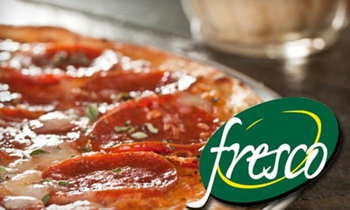 Fresco Café and Pizzeria - New Orleans: $6 for $12 Worth of Pizza and More at Fresco Café and Pizzeria