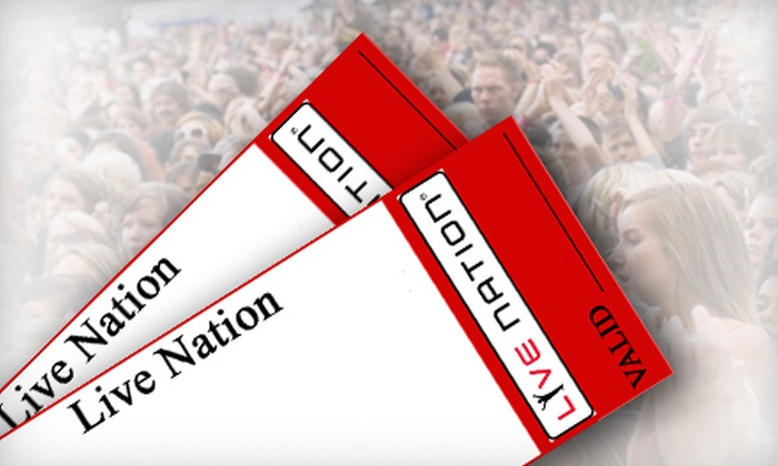 LiveNation.com: $20 for $40 of Concert Cash Toward Tickets for Concerts at Cruzan Amphitheatre in West Palm Beach