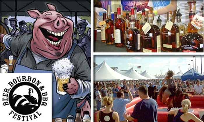 Beer, Bourbon, and BBQ - Chelsea: $40 for One Regular Admission to The Beer, Bourbon, and BBQ Festival ($60 Value)