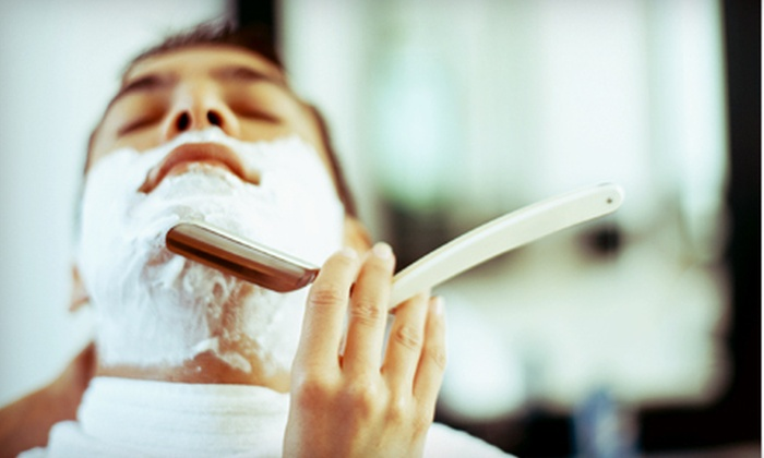Ben's Barbers - East Village: $14 for a Men's Haircut and Hot Shave at Ben's Barbers ($28 Value)
