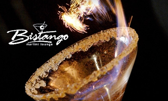 Bistango Martini Lounge - Riverside: $7 for $14 Worth of Small Plates and Drinks at Bistango Martini Lounge