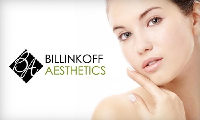 Billinkoff Aesthetics - Linden Woods: $149 for Three Laser Hair-Removal Treatments at Billinkoff Aesthetics