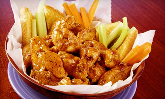 East Coast Wings & Grill - Cary: $10 for $20 Worth of Wings and American Fare at East Coast Wings & Grill in Cary