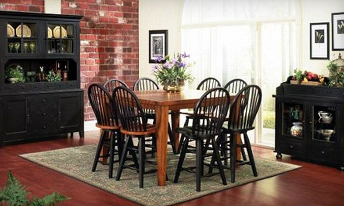 Country Marketplace - Multiple Locations: Solid-Hardwood Furniture and Home Décor at Country Marketplace (60% Off). Three Options Available.