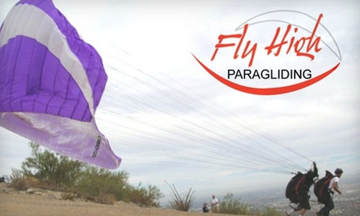 Fly High Paragliding - South Mountain: $80 for a Tandem Flight from Fly High Paragliding ($175 value)