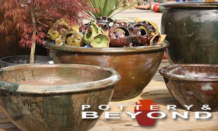 Pottery and Beyond - Oakland: $25 for $50 Worth of Pottery and More at Pottery & Beyond  in Emeryville
