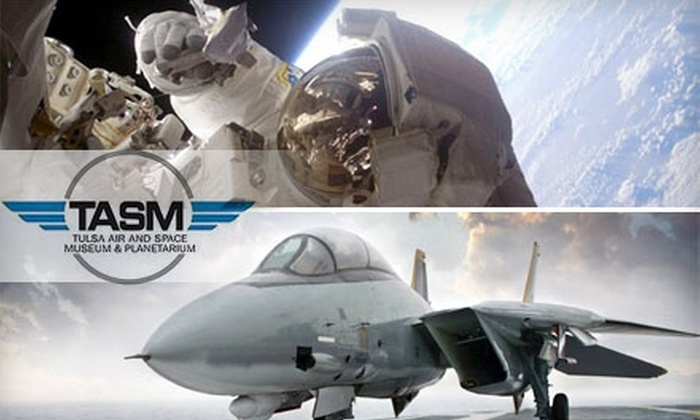 Tulsa Air and Space Museum & Planetarium - Tulsa: $12 for Two Adult Tickets to the Tulsa Air and Space Museum & Planetarium ($24 Value)
