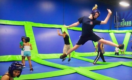 AirHeads Trampoline Arena - AirHeads Trampoline Arena in Tampa