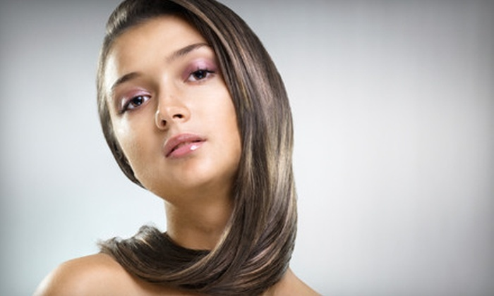 Open Door Salon and Day Spa - East Broad: $129 for a Smoothing Blow-Out Treatment at Open Door Salon and Day Spa in Blacklick ($350 Value)