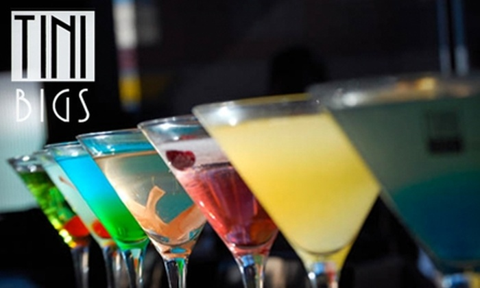 Tini Bigs - Belltown: $17 for $35 Worth of Drinks and Appetizers at Tini Bigs