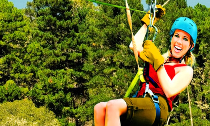Adventure Park at Five Oaks - Sevierville: $29 for a 90-Minute Zipline Tour at Adventure Park at Five Oaks in Sevierville ($59.99 Value)