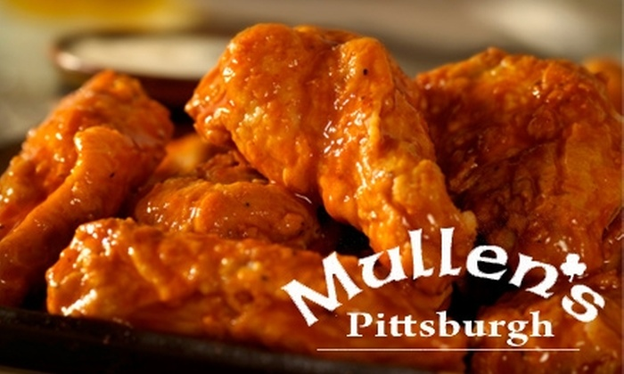 Mullen's Bar & Grill - Multiple Locations: $10 for $20 Worth of American Fare and Drinks at Mullen's Bar & Grill