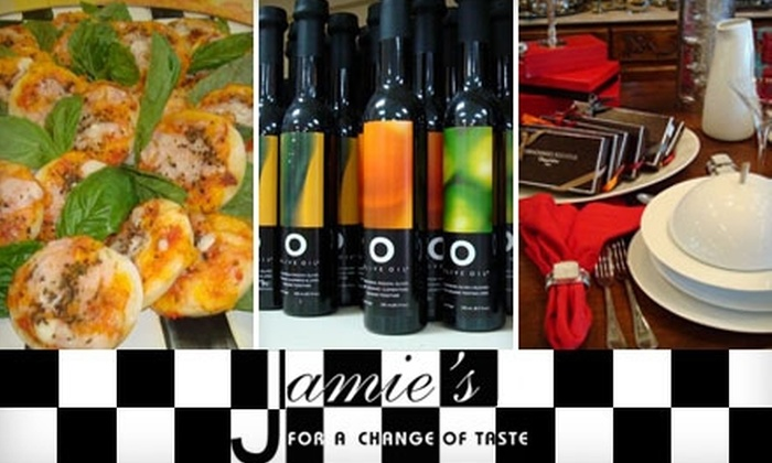 Jamie's  - Central Oklahoma City: $25 for $50 Worth of Prepared Gourmet Meals, Tableware, and More at Jamie's