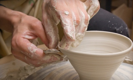 1-Hour Basic Pottery Class for One (a $50 value) - Haven Art in Port Washington
