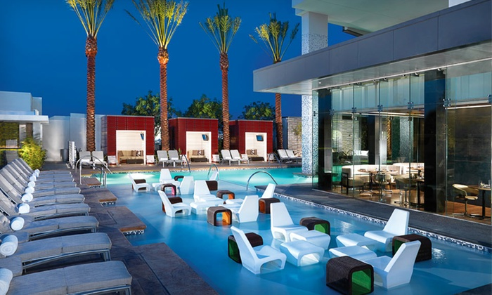 Palms Place Hotel - Paradise: Two-Night Stay and Spa Access for Two Plus Playboy Club Passes or Dining Credit at Palms Place Hotel in Las Vegas