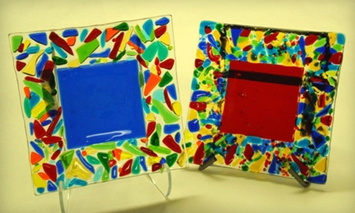 Expressions Art Glass - Tucson: $49 For A Fused-Glass-Plate-Making Class at Expressions Art Glass ($89 Value)