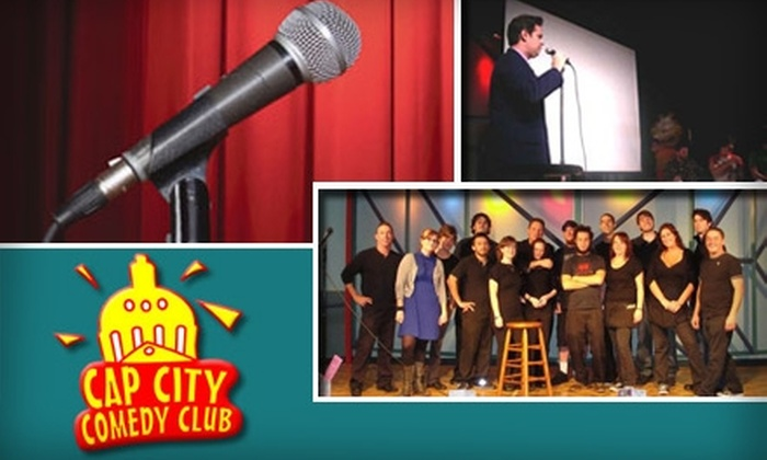 Cap City Comedy Club - Wooten: $32 for 10 Pairs of Tickets to Cap City Comedy Club ($65 Value)