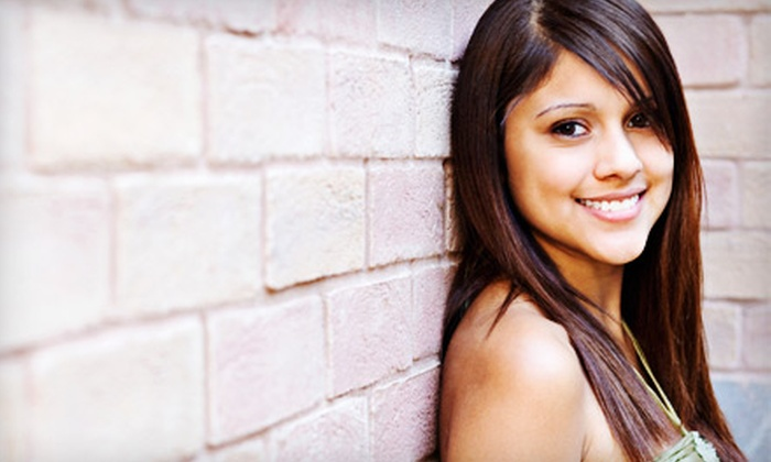 The Salon - 2: $120 for a Keratin Hair-Straightening Treatment at The Salon ($240 Value)