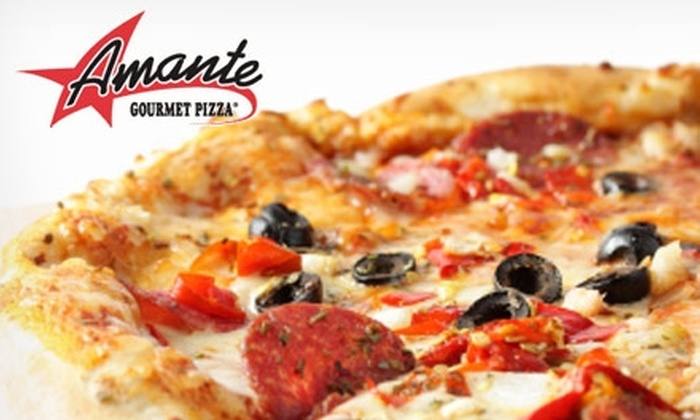 Amante Gourmet Pizza - North Raleigh: $8 for $20 Worth of Pizza, Salads, Sandwiches, and More at Amante Gourmet Pizza