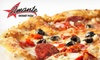 Amante Gourmet Pizza - Raleigh - North Raleigh: $8 for $20 Worth of Pizza, Salads, Sandwiches, and More at Amante Gourmet Pizza